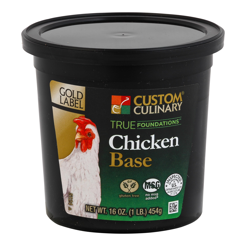 5124 - True Foundations Chicken Base No MSG Added Gluten Free Clean Label