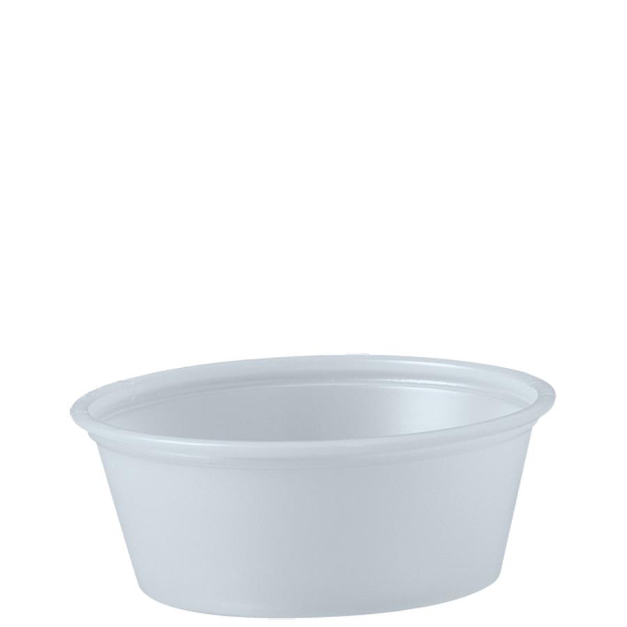PLASTIC SOUFFLE CUP 1.5 OZ