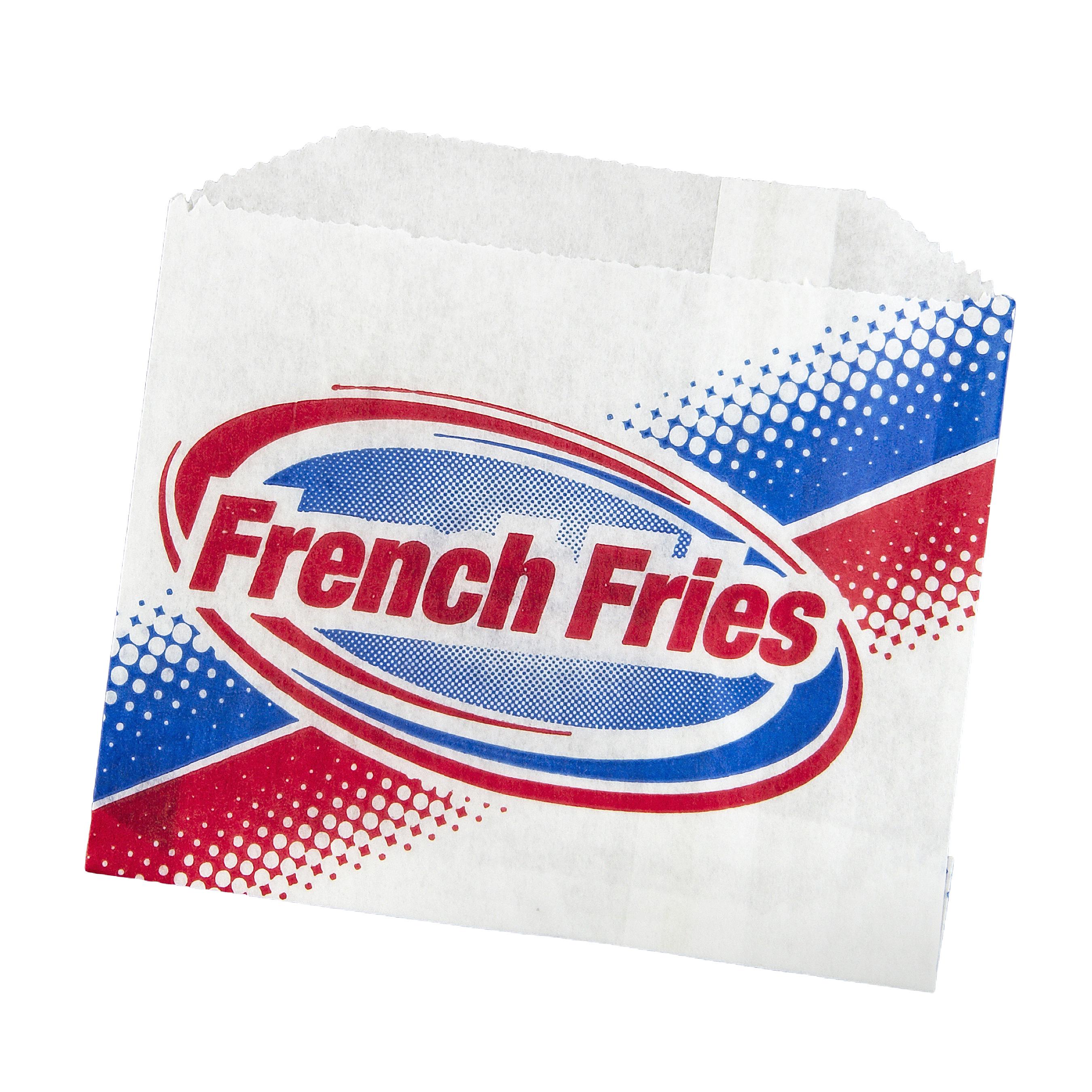 FRY BAG PRINTED 4-7/8X4 801