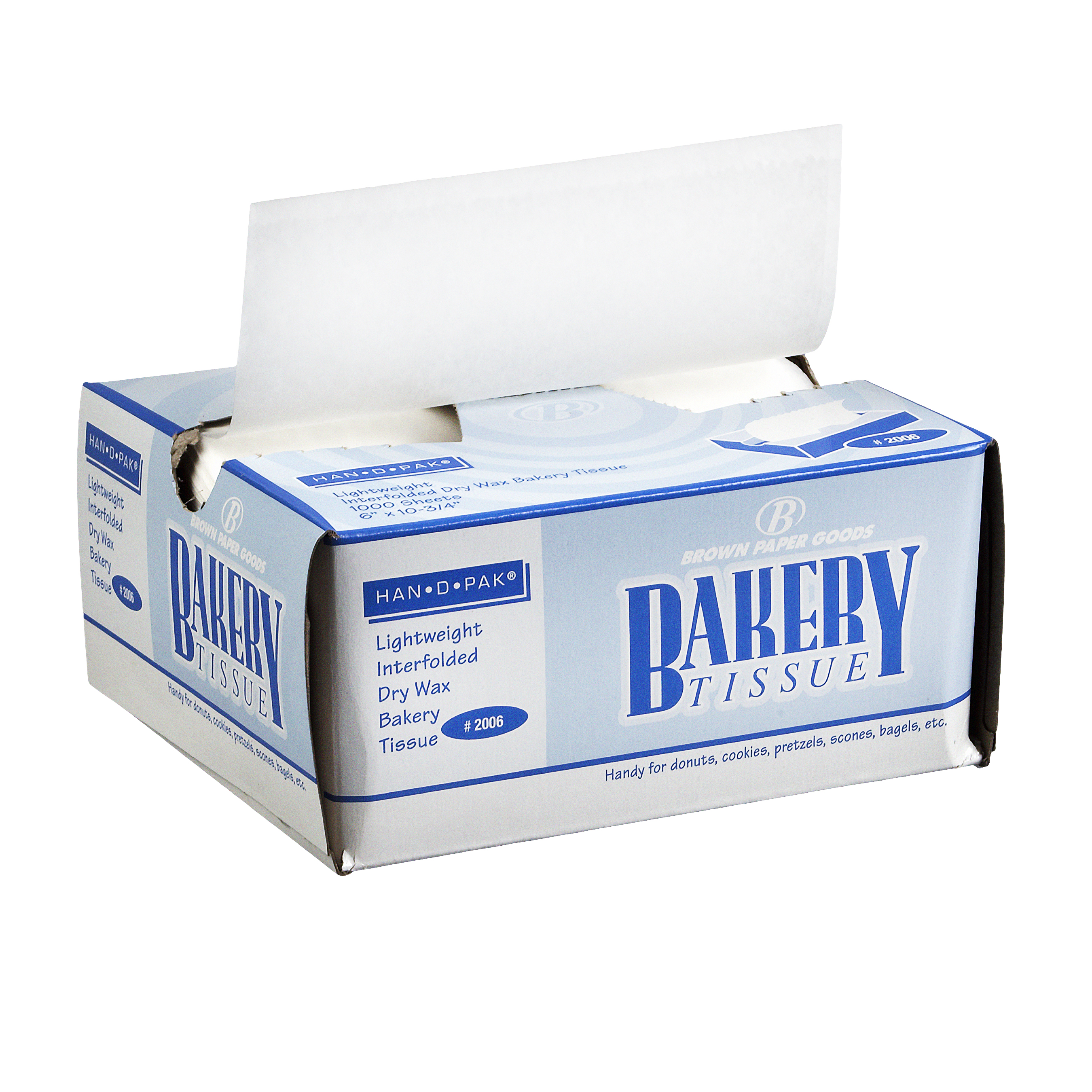 BAKERY TISSUE WRAP 6X10.75