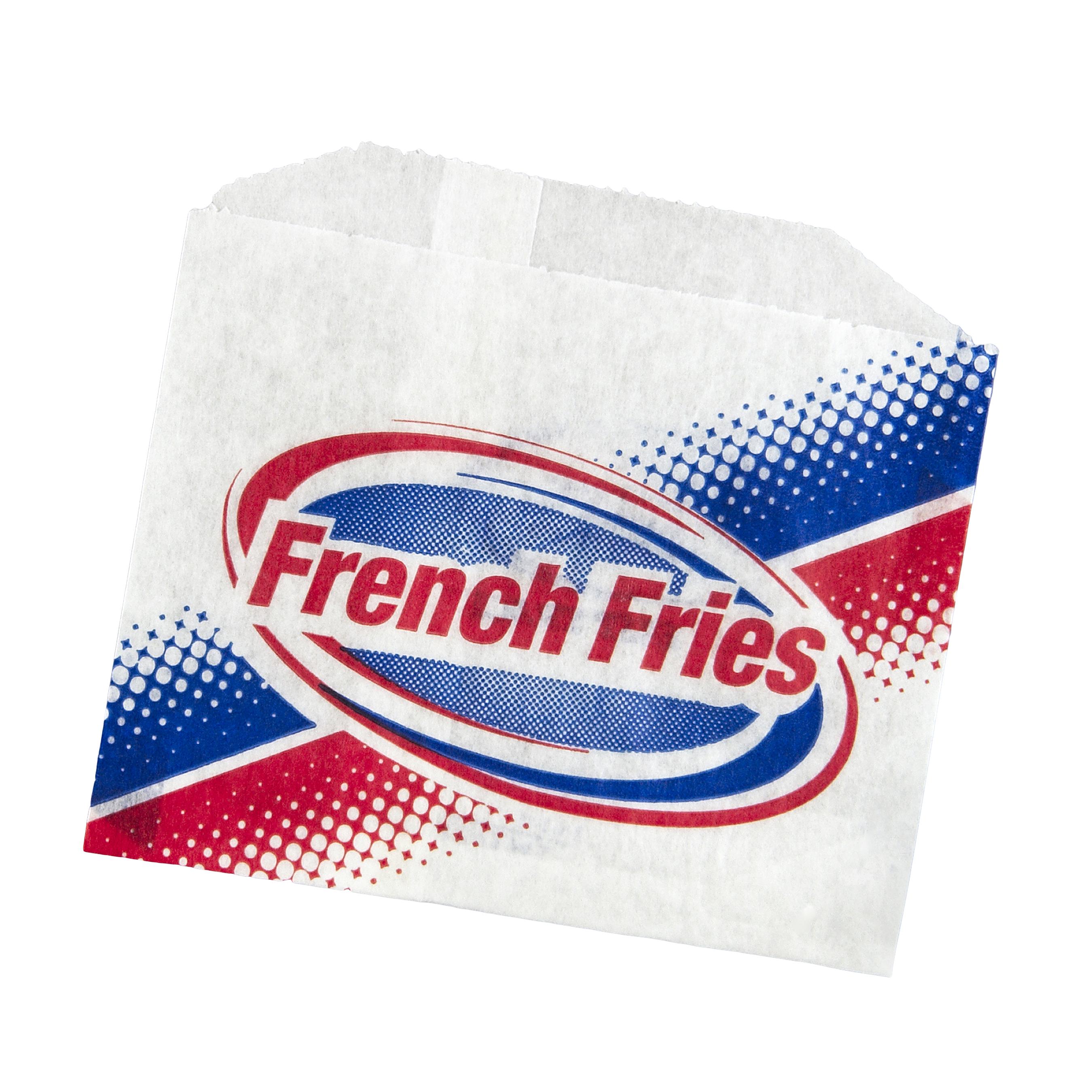 FRY BAG PRINTED 4.5X3.5 805