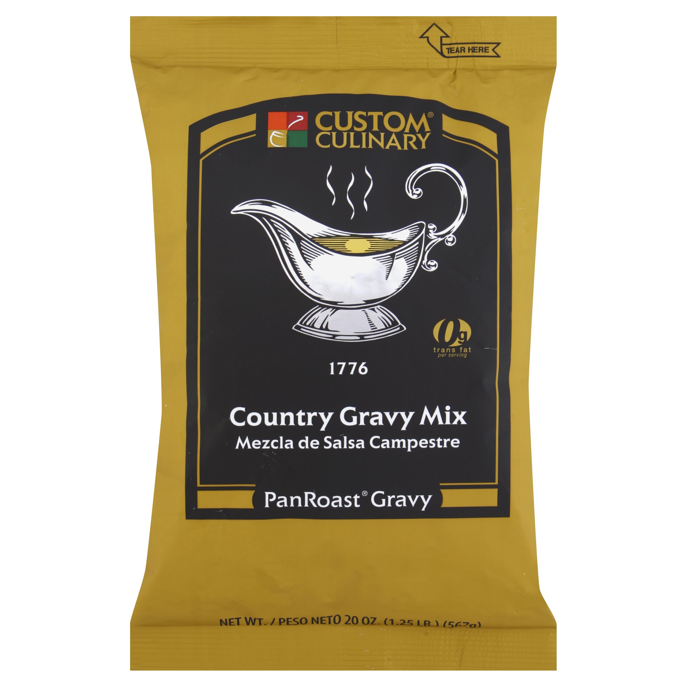 1776 - PanRoast Country Gravy Mix