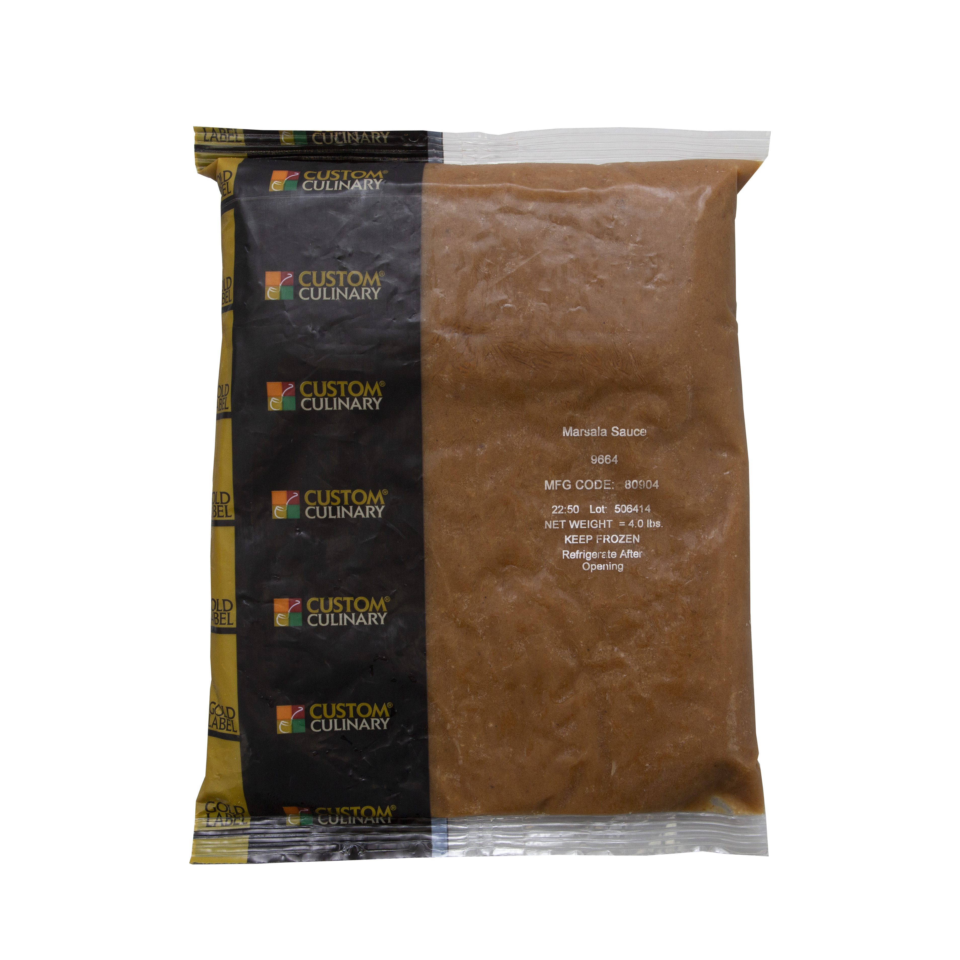 9664 - GOLD LABEL Ready-To-Use Frozen Marsala Sauce