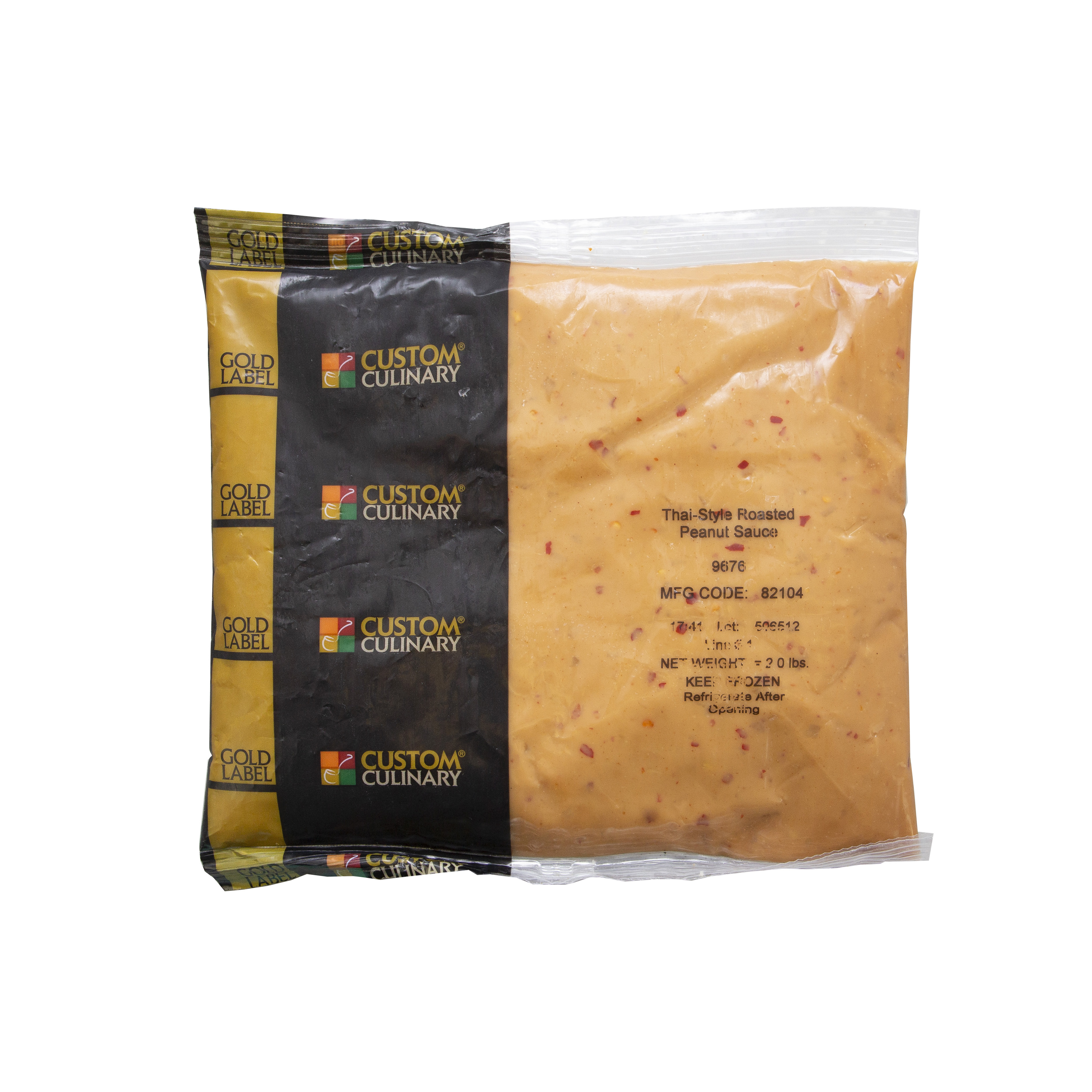 9676 - GOLD LABEL Ready-To-Use Frozen Thai- Style Roasted Peanut Sauce