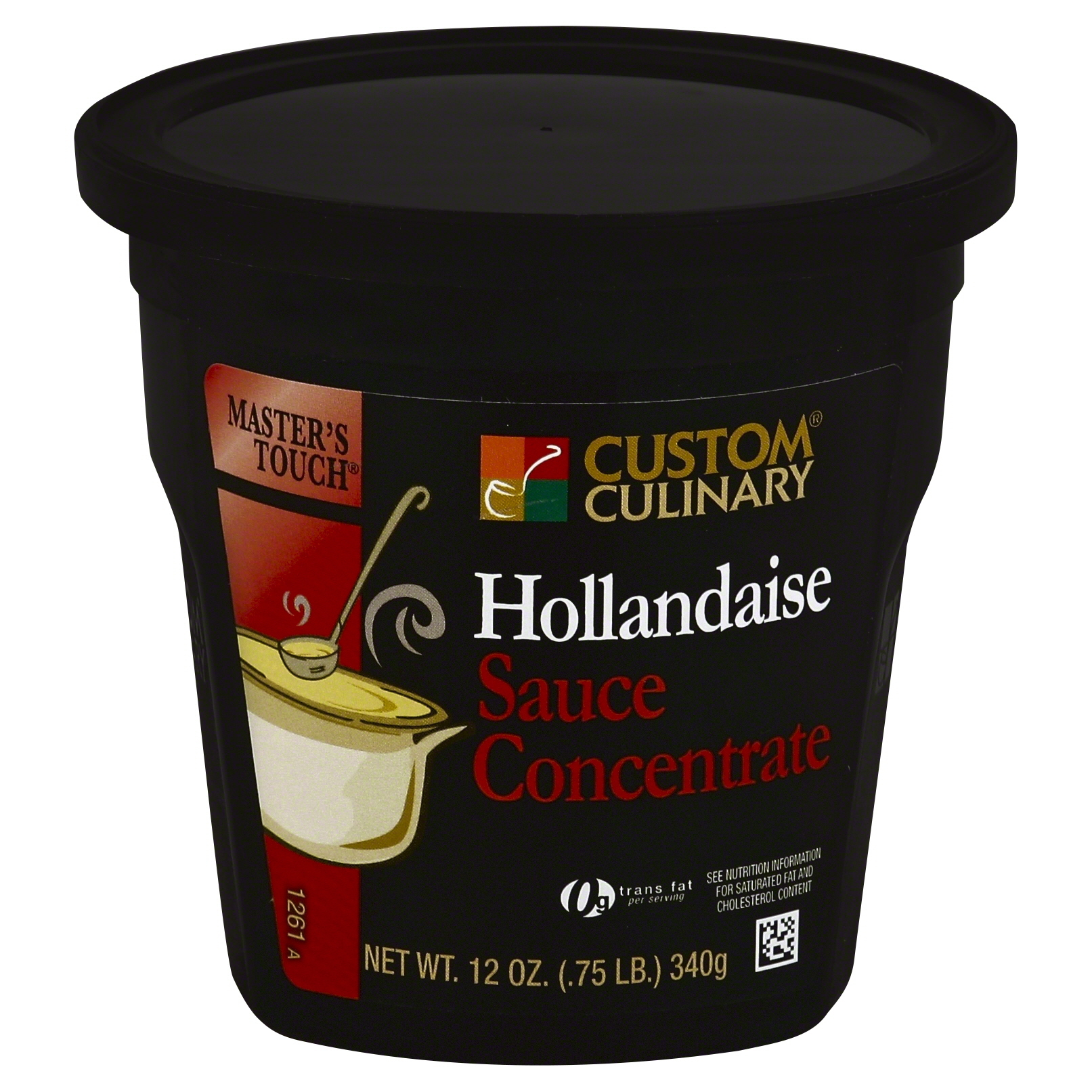 1261 - Masters Touch Hollandaise Sauce Concentrate
