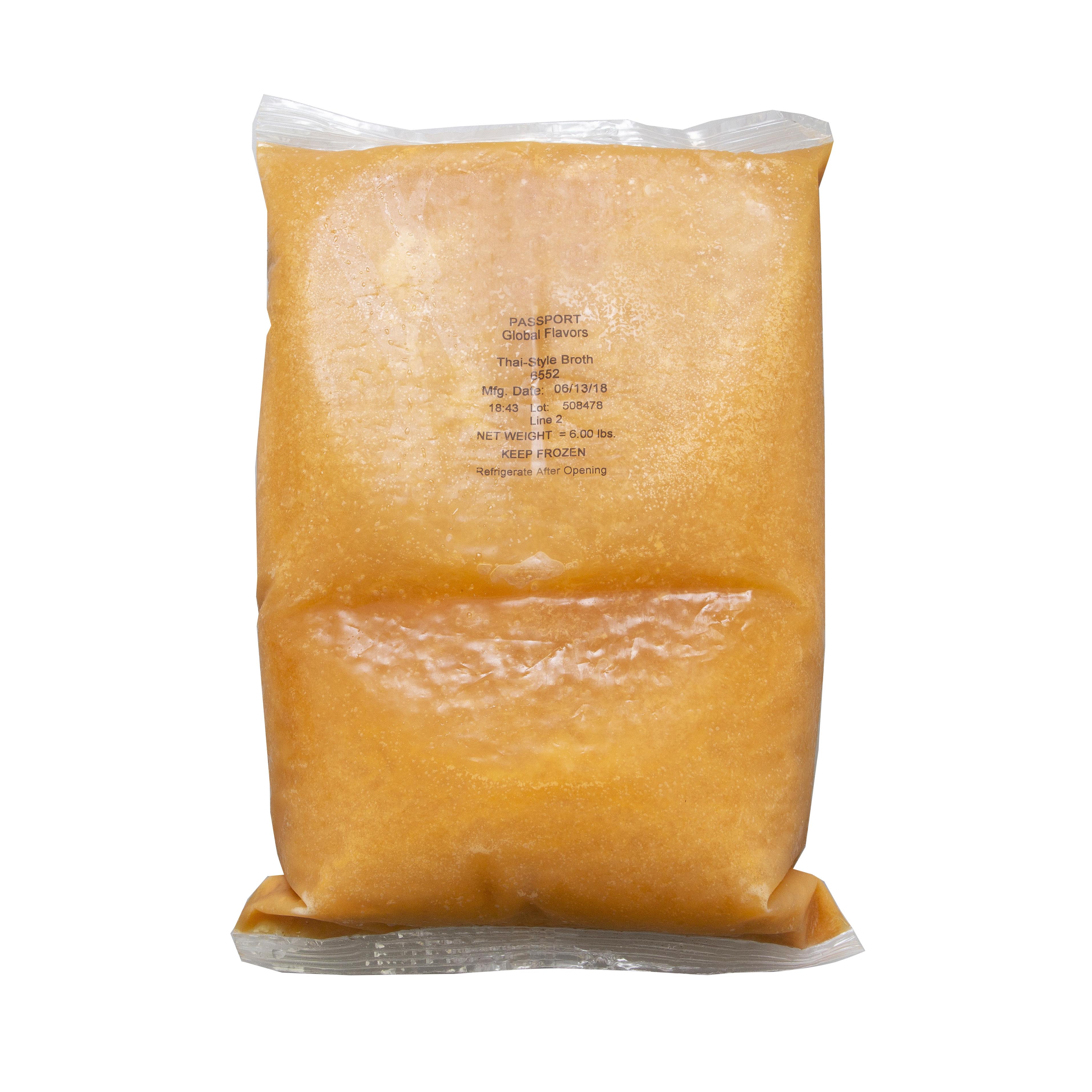 6552 - Passport By Custom Culinary Thai-Style Vegetable Broth