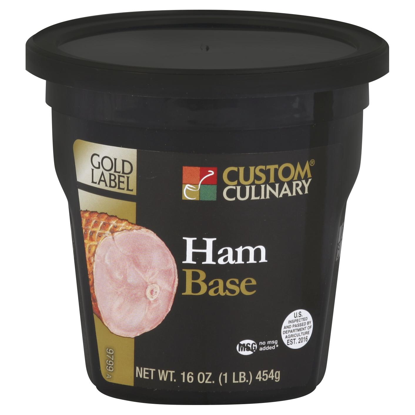 9799 - GOLD LABEL Ham Base No MSG Added