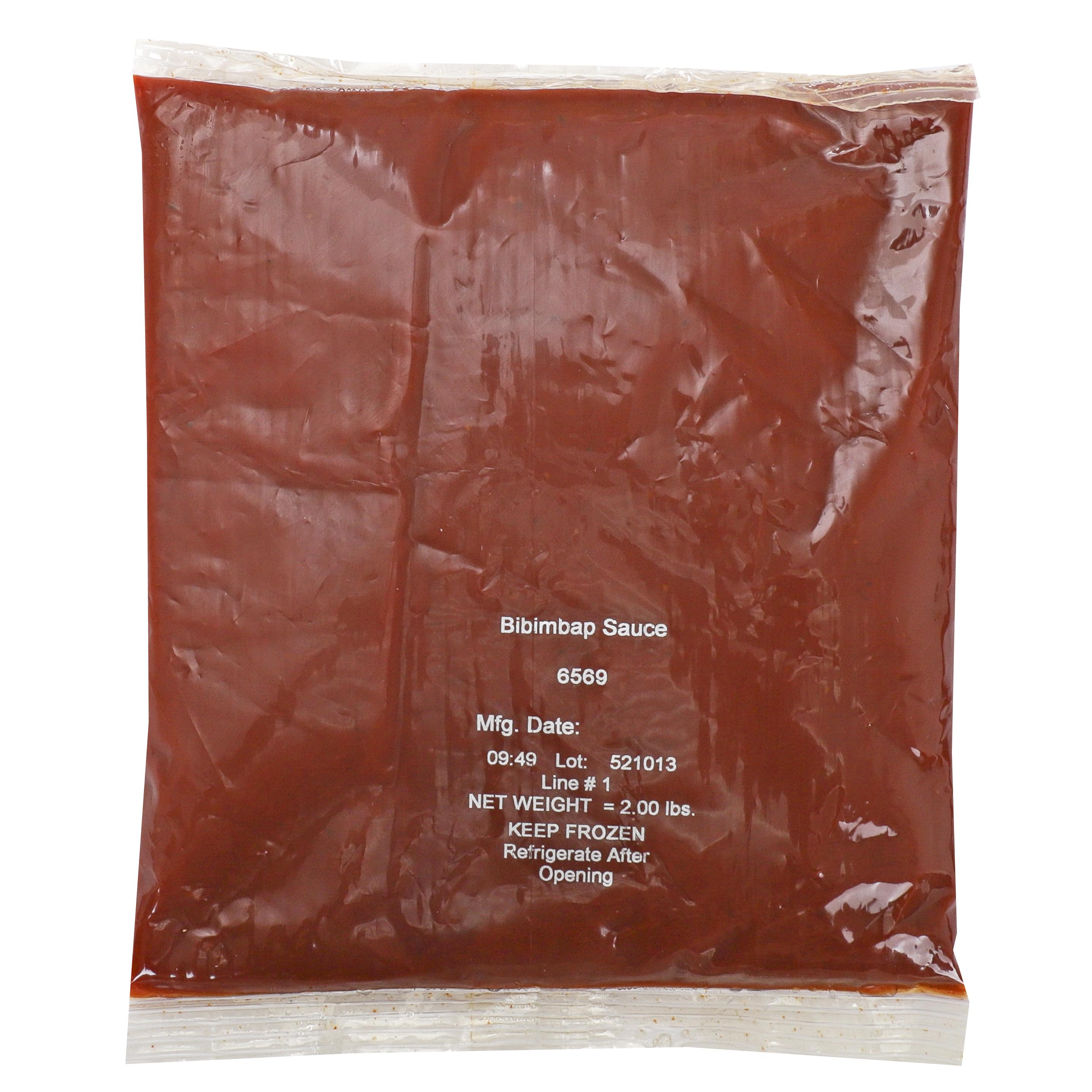 6569 - Passport Global Flavors By Custom Culinary Bibimbap Sauce