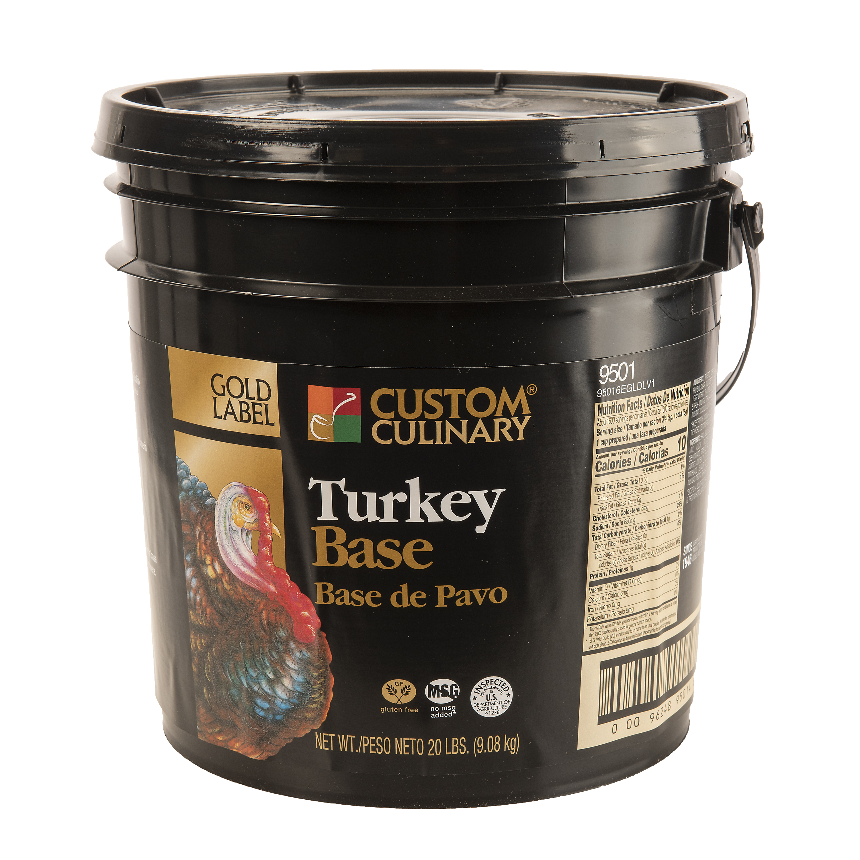 9501 - GOLD LABEL Turkey Base No MSG Added