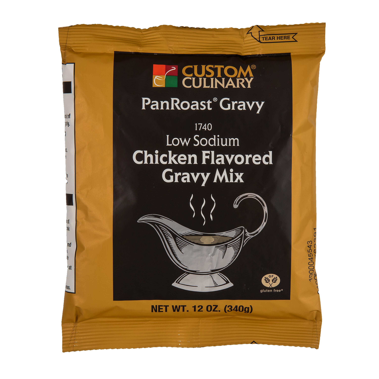 1740 - PanRoast Low Sodium Chicken Flavored Gravy Mix