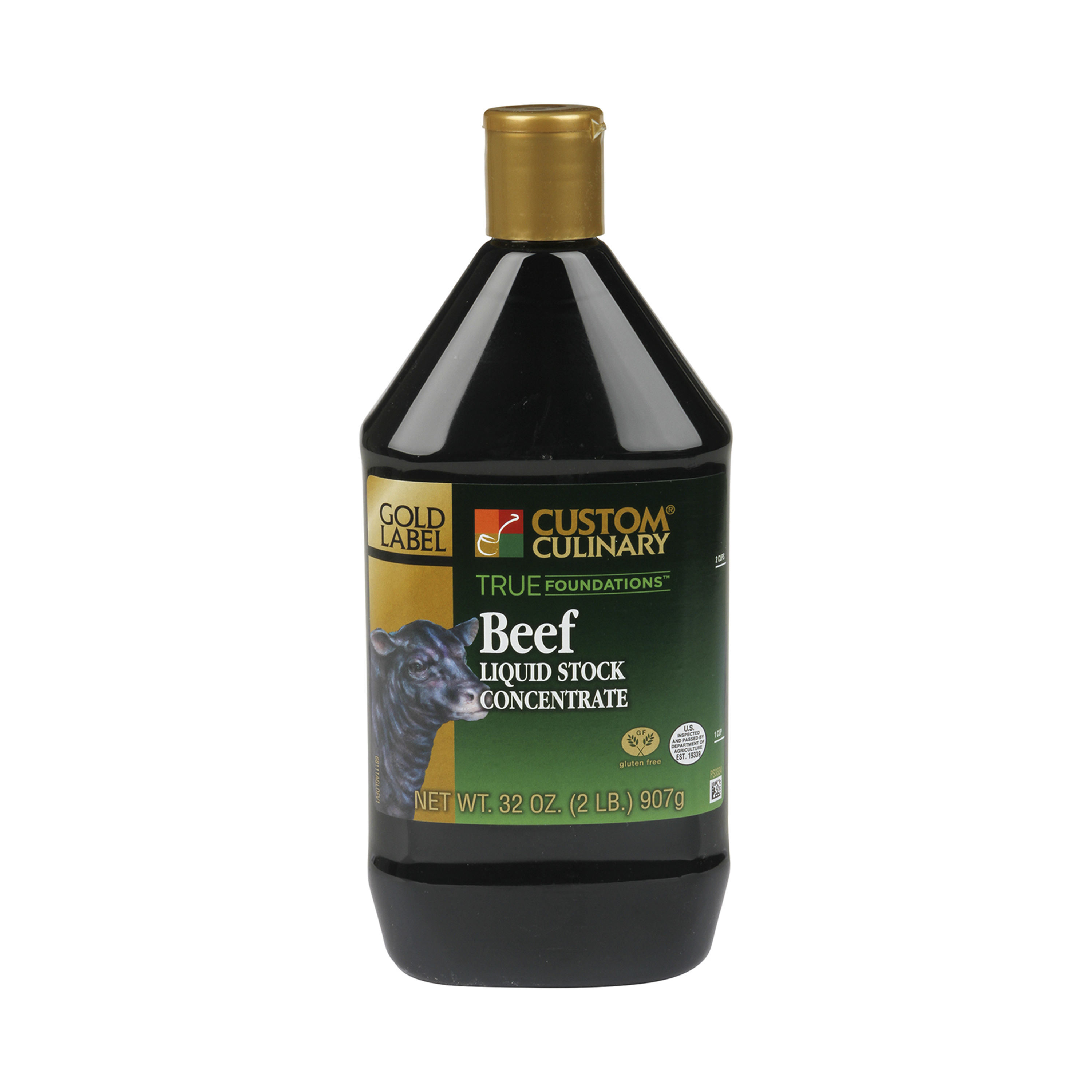 6811 - True Foundations Liquid Beef Stock Concentrate  No MSG Added Gluten Free