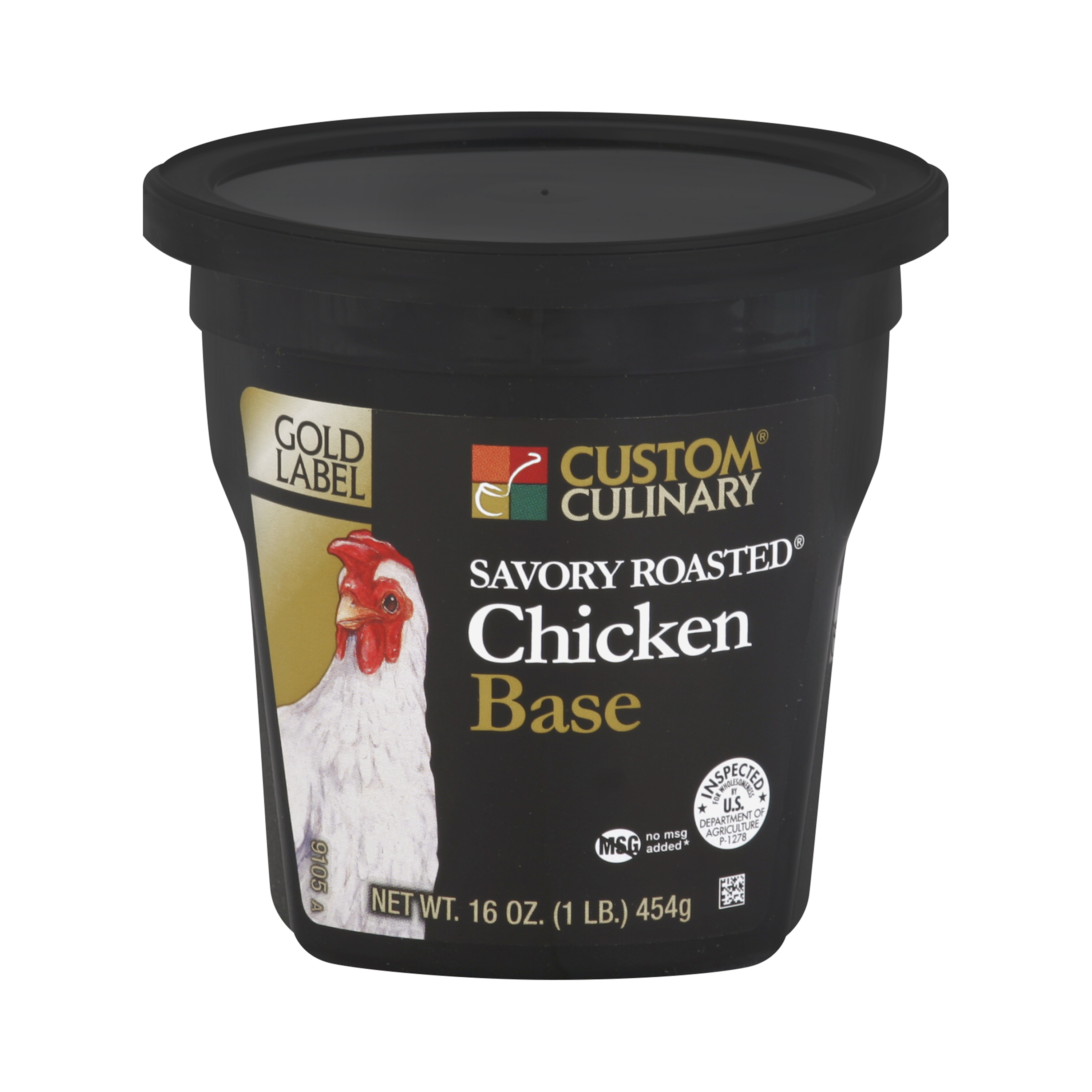 9105 - GOLD LABEL Savory Roasted  Chicken Base No MSG Added